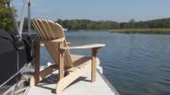 Muskoka, Adirondack chair und Ottoman footstool